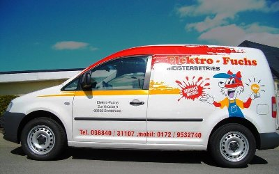 Servicemobil von Elektro Fuchs Brotterode